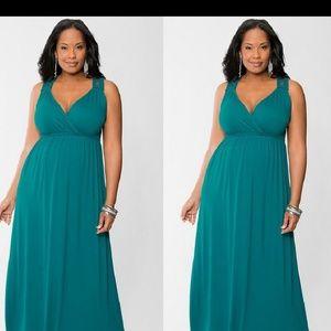 Lane Bryant gorgeous macrame dress